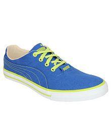 Puma Mens Blue Casual Shoes