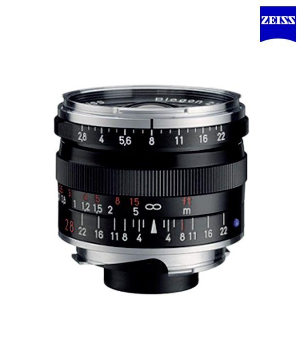 Carl Zeiss Biogon T 2,8/28 ZM  (Black) ZM Lenses (M-Mount  Rangefinder) (1365-657 )