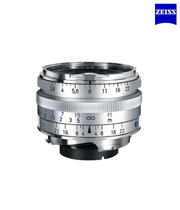 Carl Zeiss C Biogon 2,8/35 (Silver)  ZM Lenses (M-Mount Rangefinder)  (1486-394)