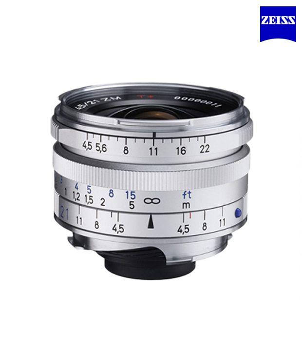 Carl Zeiss C Biogon T 4,5/21 ZM  (Silver) ZM Lenses (M-Mount  Rangefinder) (1419-574 )