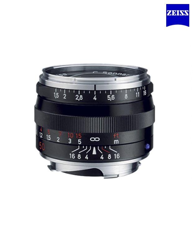 Carl Zeiss C Sonnar T 1,5/50 ZM  (Black) ZM Lenses (M-Mount  Rangefinder) (1407-218 )