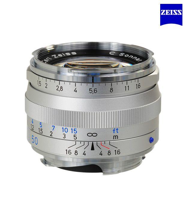Carl Zeiss C Sonnar T 1,5/50 ZM  (Silver) ZM Lenses (M-Mount  Rangefinder) (1407-067 )