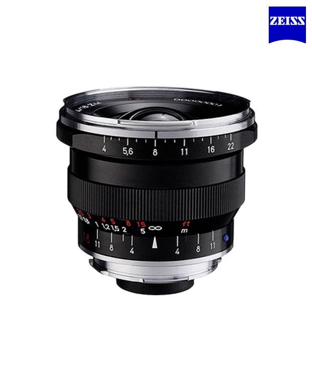 Carl Zeiss Distagon T 4/18 ZM  (incl. lens shade) (Black) ZM  Lenses (M-Mount Rangefinder) ..