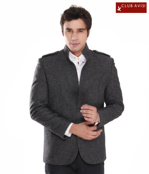 Club Avis USA Classy Grey Men Jacket