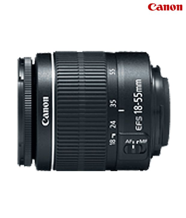 Canon  EF S 18 55mm f/3.5 5.6 IS II Lens