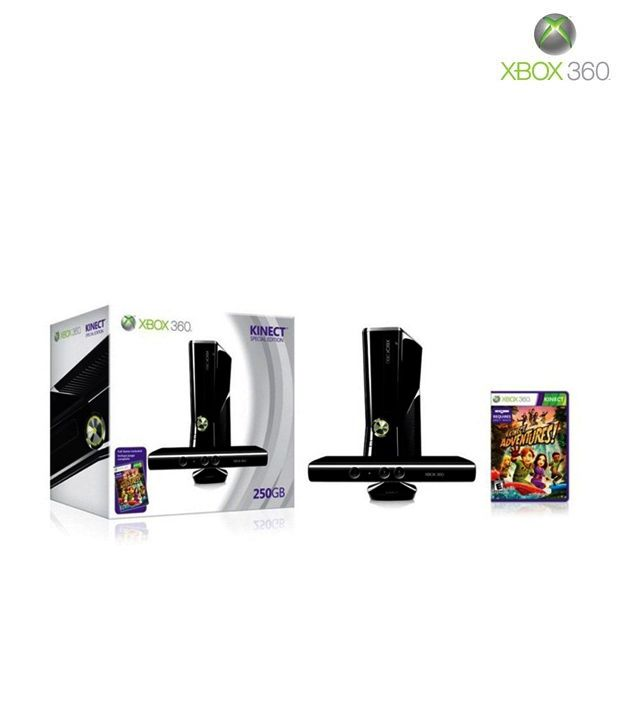 Buy microsoft xbox 360 250gb kinect bundle online at best price in india snapdeal - Xbox 360 console kinect bundle ...