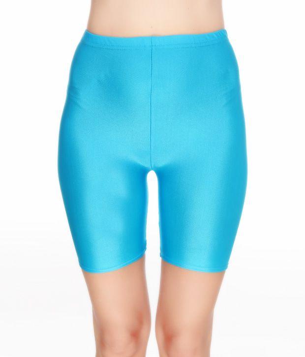 Eva Paris Turquoise Blue Short Legging