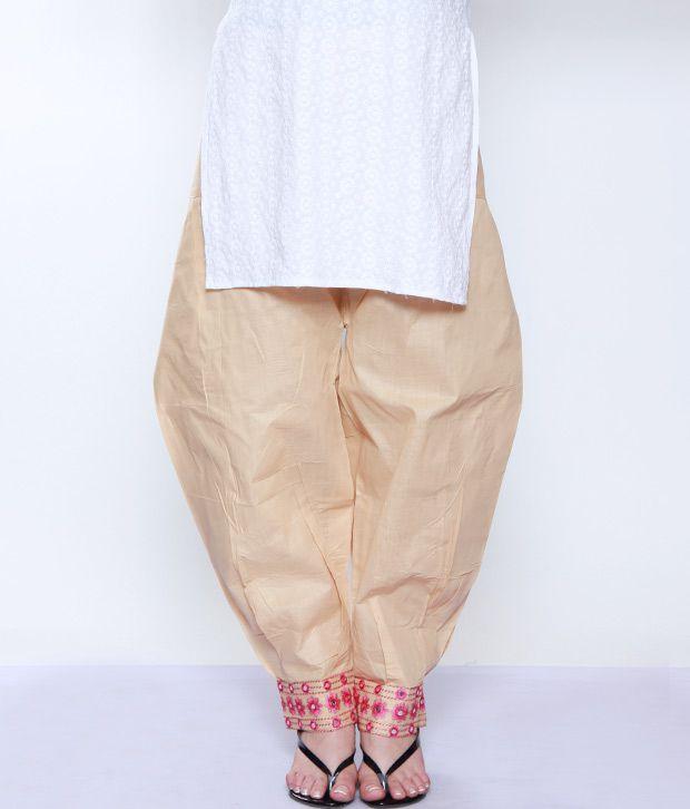 Lavennder Beige-Pink Salwar