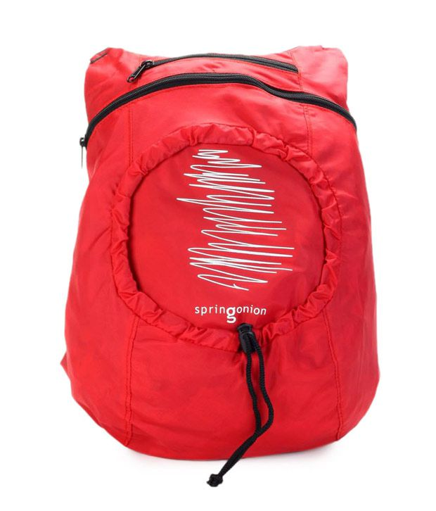 OTLS Gorgeous Red Deck Bag Backpack
