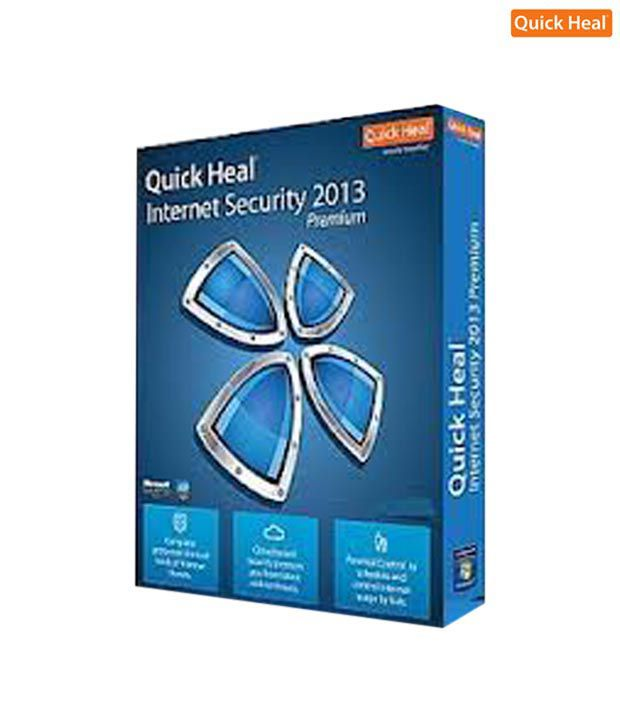 Quick Heal Internet Security 2013 ( 10 / 1 ) CD