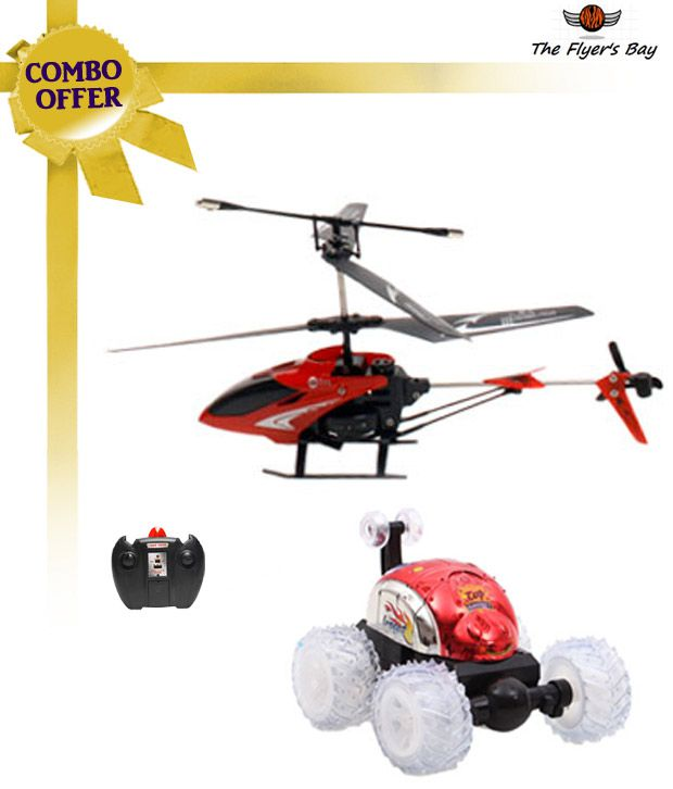 Mixed Bag  COMBO 2 (Helicopter & Stunt Car) R/C