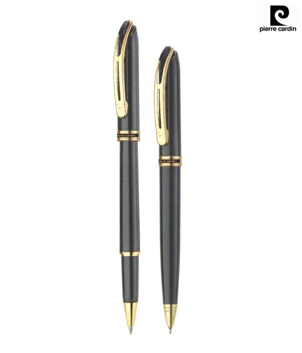 Pierre Cardin Monte Rosa Black Pen Set