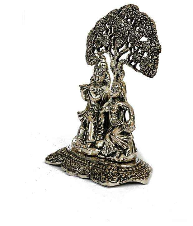 Rigvi Radha, Krishna With Tree Showpiece