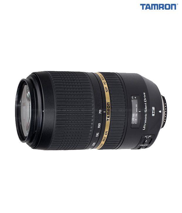 Tamron -A005 SP AF 70-300  mm  F/4-5,6 Di VC USD w/HA 005 lens  hood  (Canon)