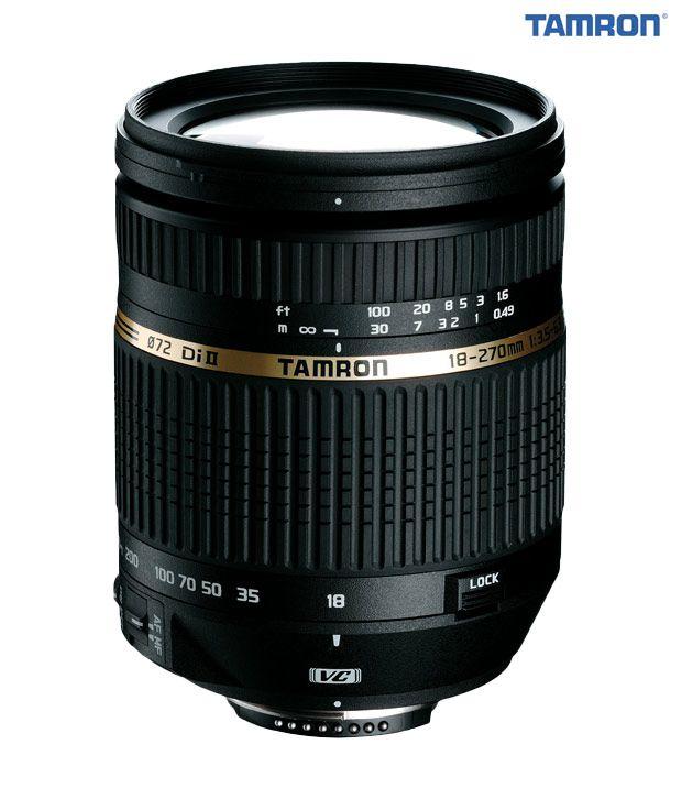 Tamron -B003 AF18-270  mm  F/3.5-6.3 Di-II VC LD Aspherical  (IF) Macro w/ hood (Nikon)