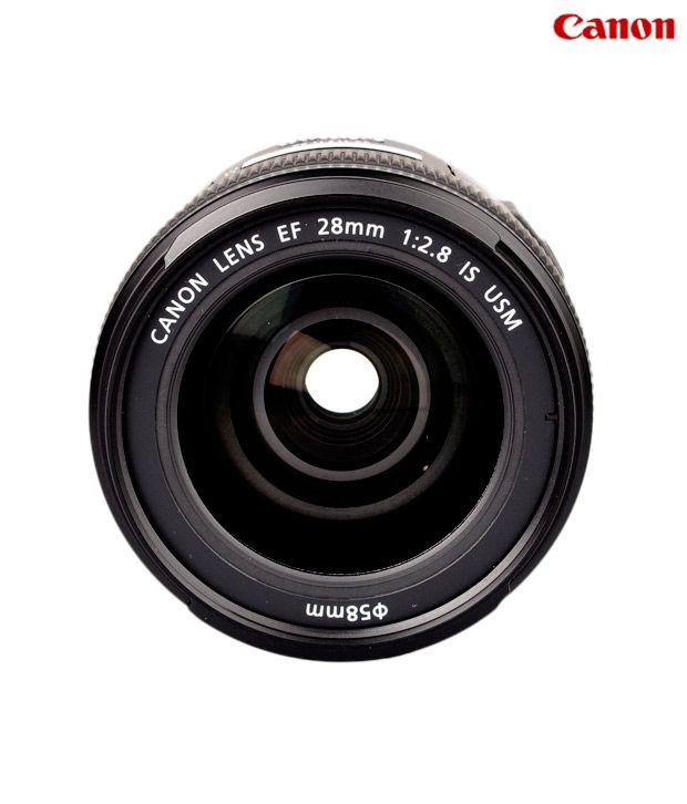 Canon EF 28mm 1:2.8 IS USM Lens