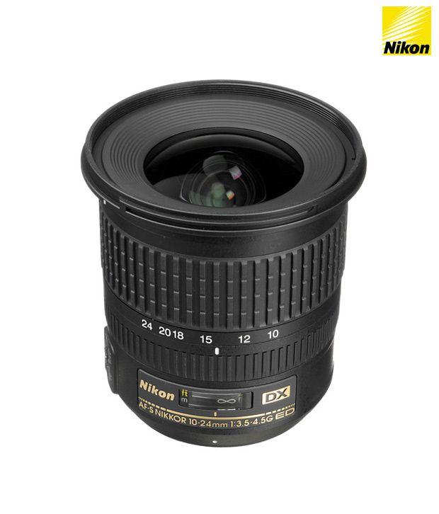 Nikon 10-24 mm f/3.5-4.5G ED AF-S  DX Lens (DX Format)