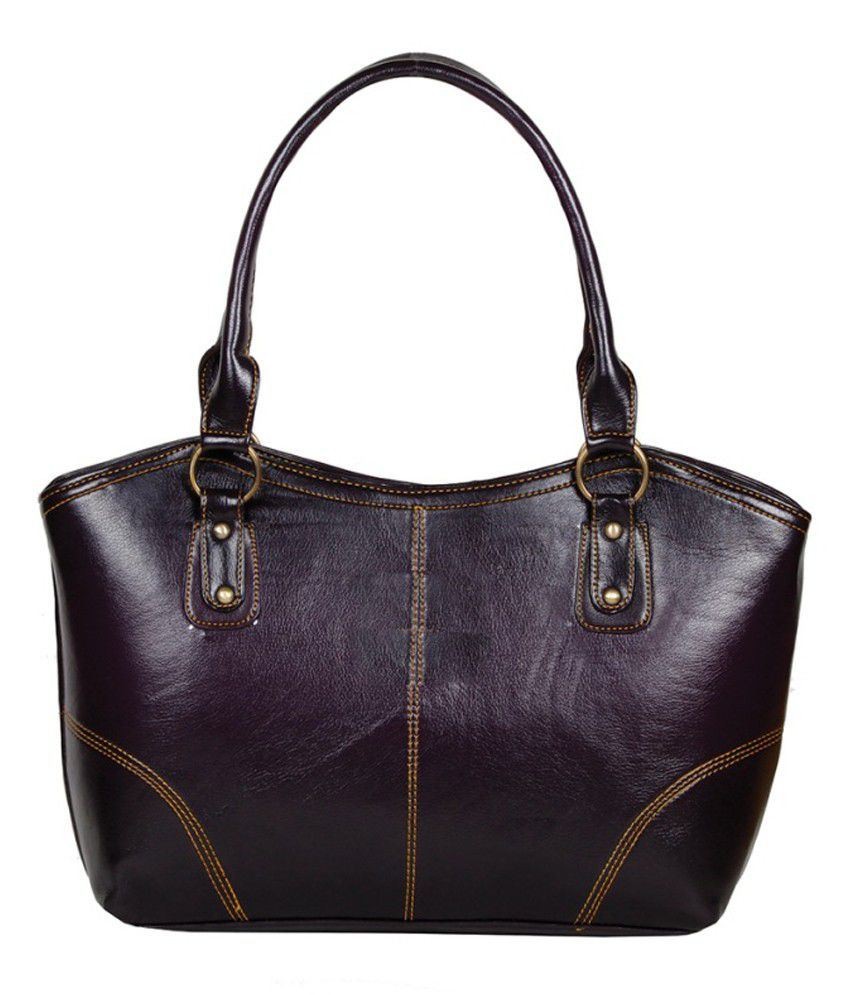 Ashley Purple P.u. Shoulder Bag