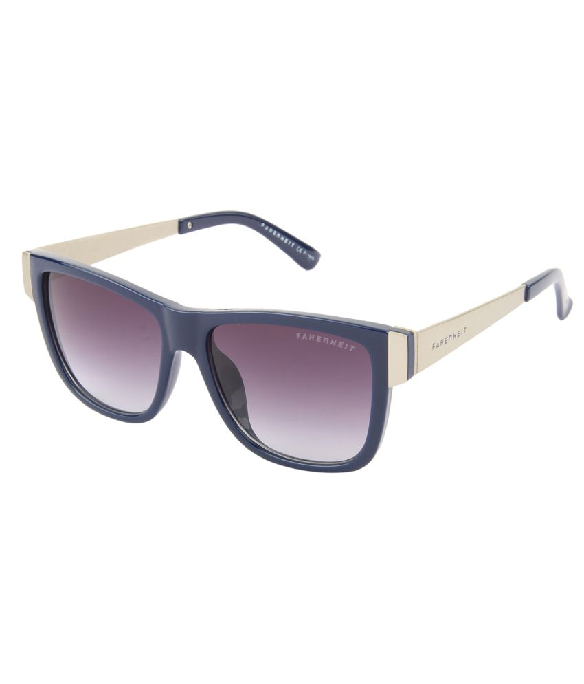 c74f9bbc88b2 Farenheit Purple Medium Wayfarer Sunglasses For Men & Women - Buy Farenheit  Purple Medium Wayfarer Sunglasses For Men & Women Online at Low Price -  Snapdeal