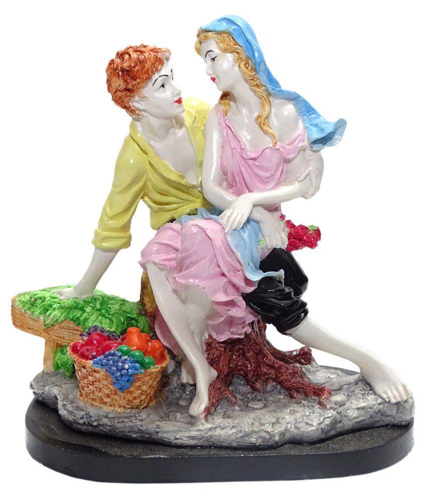 Paras Magic Glossy Couple Showpiece