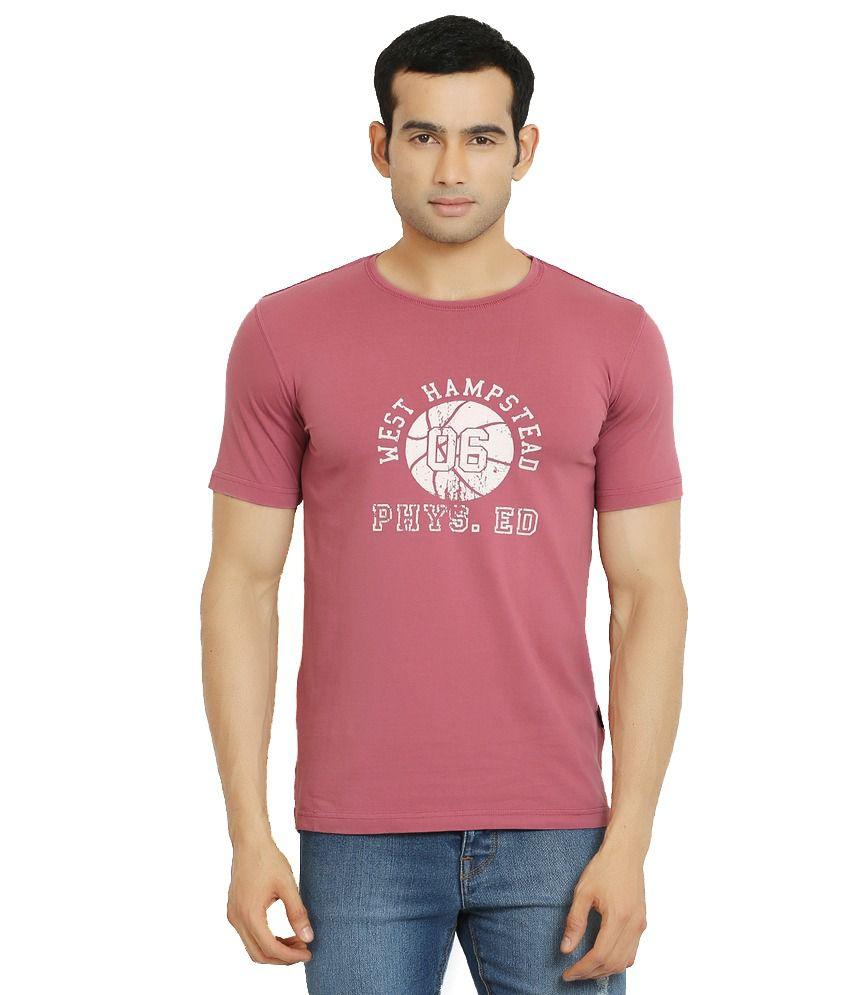 Stanley Kane Pink Cotton T-shirt