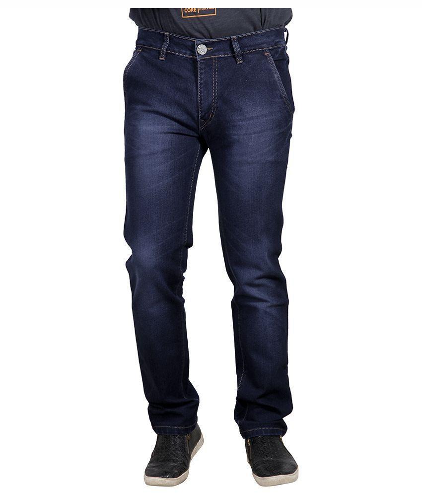 Yorky Blue Regular Fit Jeans