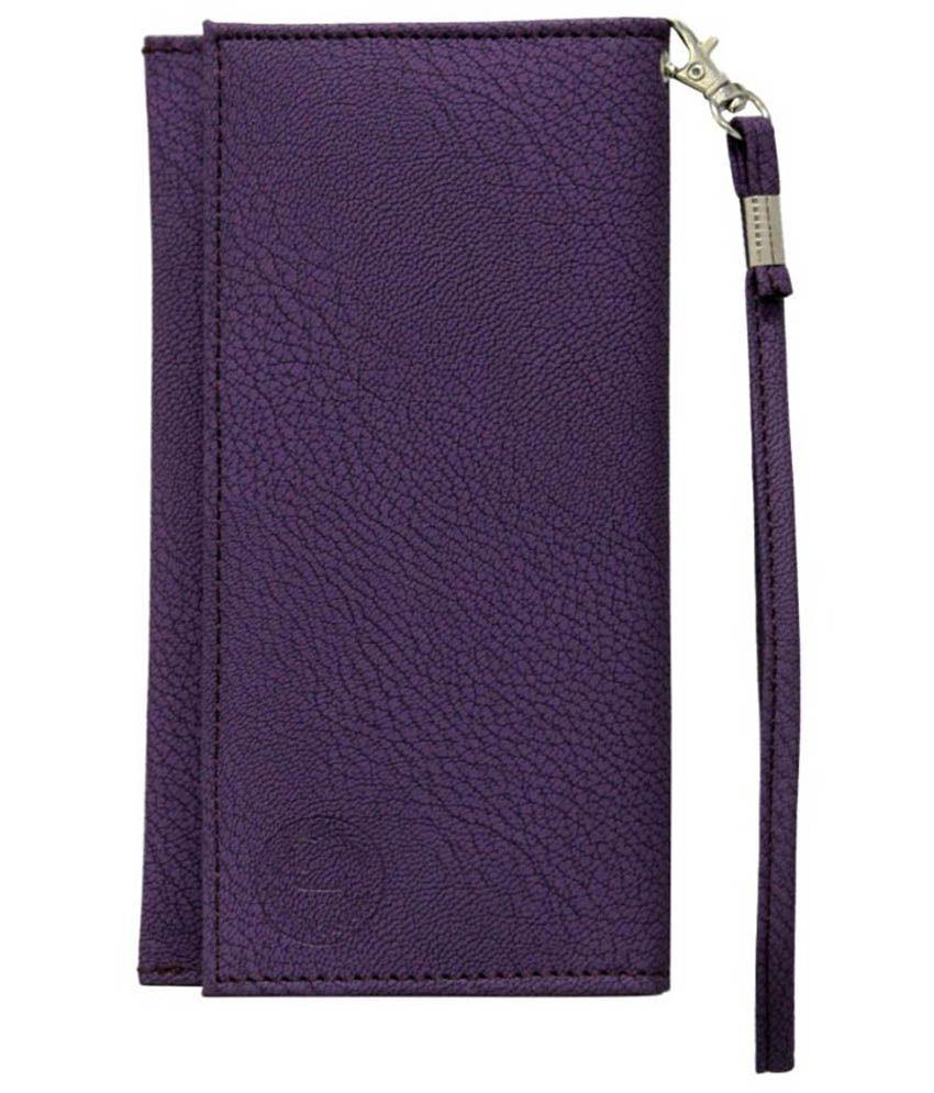 Jo Jo Wallet Case For Samsung Galaxy On5 - Purple