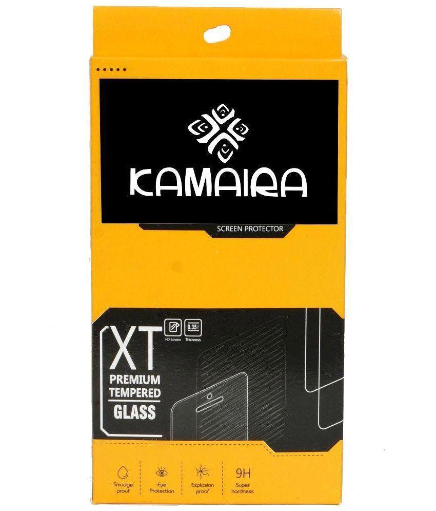 Kamaira Tempered Glass Screen Guard For Xolo Black