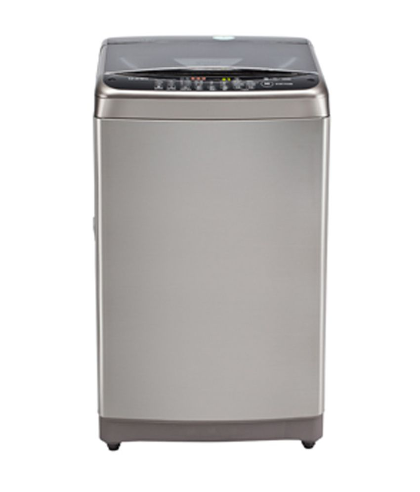 LG 7.5 Kg. T8568TEEL5 Top Load Fully Automatic Washing Machine Stainless Steel