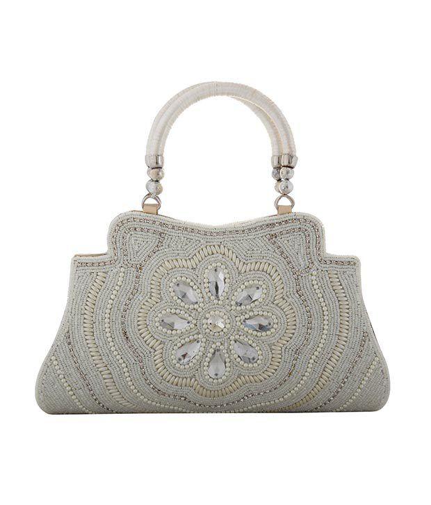 Lavangg White Shoulder Bag