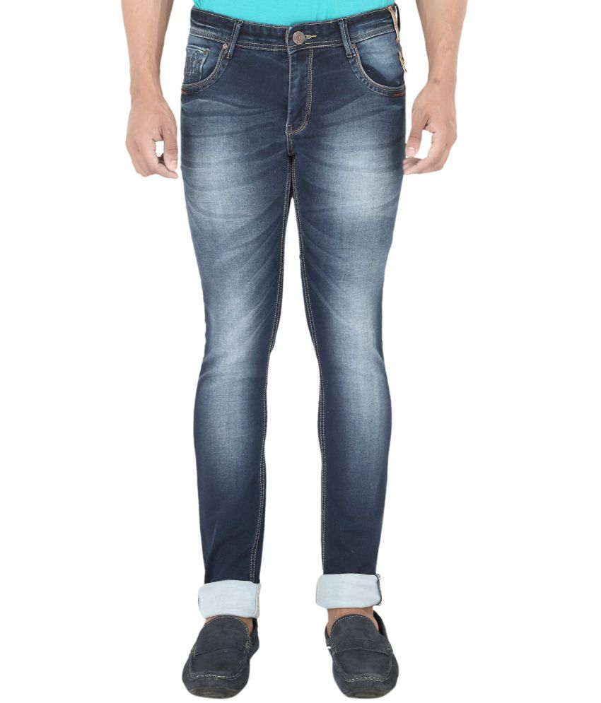 Streetguys Blue Slim Fit Jeans