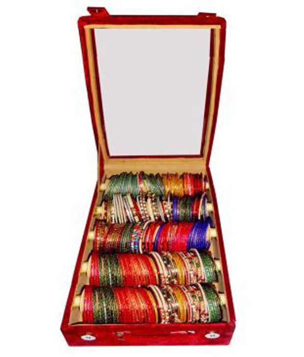 Atorakushon Combo Deal 5 Roll Rod Bangles Box 1 Saree Cover 1 Blouse Cover