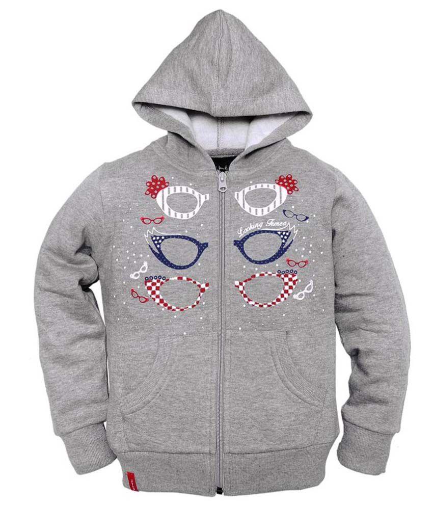 Femea Gray Fleece Sweatshirt
