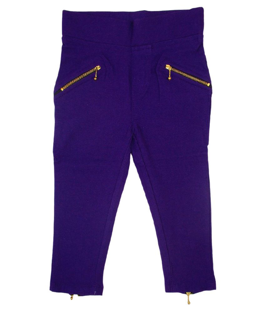 Garlynn Purple Capri