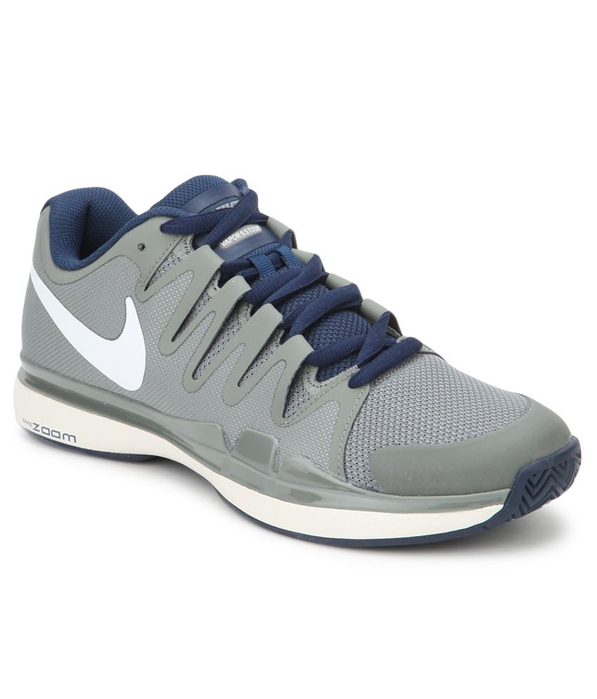 ee6394d8e83f Nike Zoom Vapor 9.5 Tour Gray Sport Shoes - Buy Nike Zoom Vapor 9.5 Tour  Gray Sport Shoes Online at Best Prices in India on Snapdeal