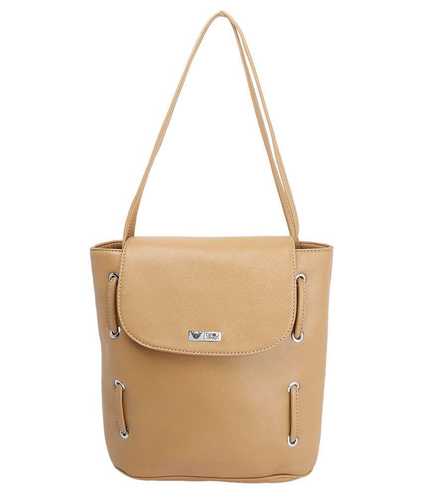 Beau Design Beige Tote Bags