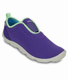 Crocs Blue Casual Shoes Standard Fit