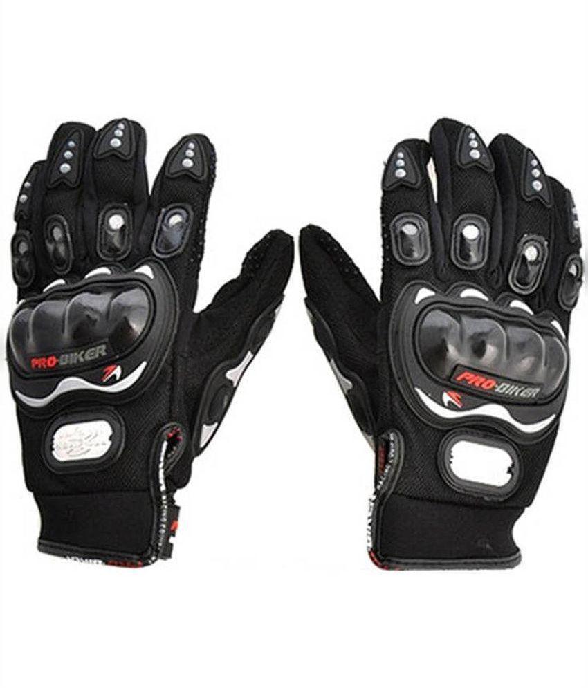 Driving gloves online shopping india -  V Luma Combo Of Pro Biker Gloves Aviator Sunglass And Sports Watch Black
