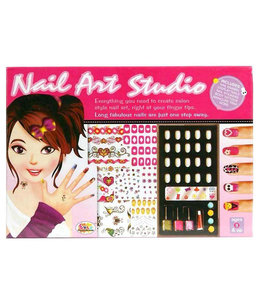 Scrazy Multicolour Plastic Nail Art kit - Buy Scrazy Multicolour ...