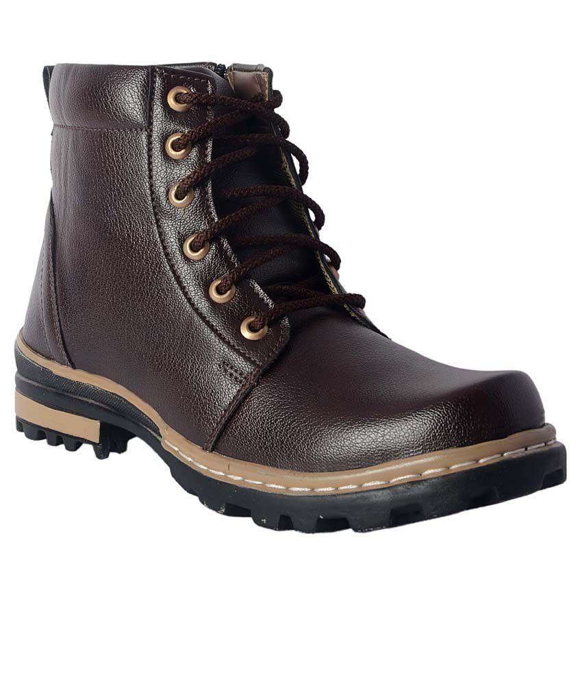 Aadi Brown Boots