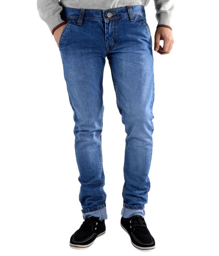 K'Lives Cotton Blue Denim men Jeans