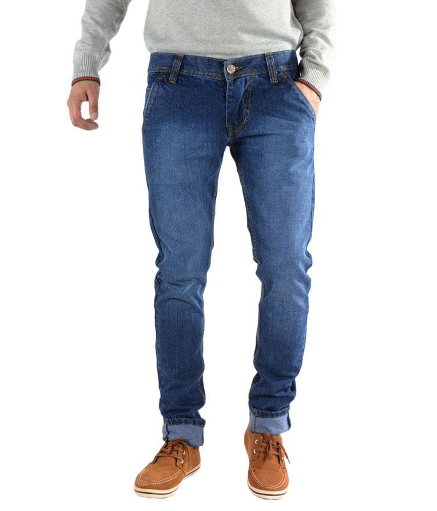 K'Lives Stylish Cotton Basic Denim jeans