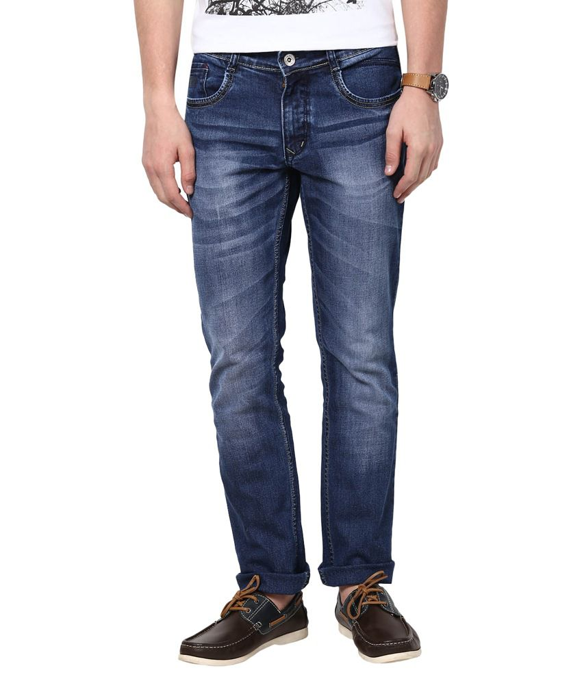 3concept Blue Slim Fit Jeans
