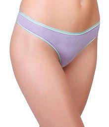 Inner Sense Organic Antimicrobial Thong Panty