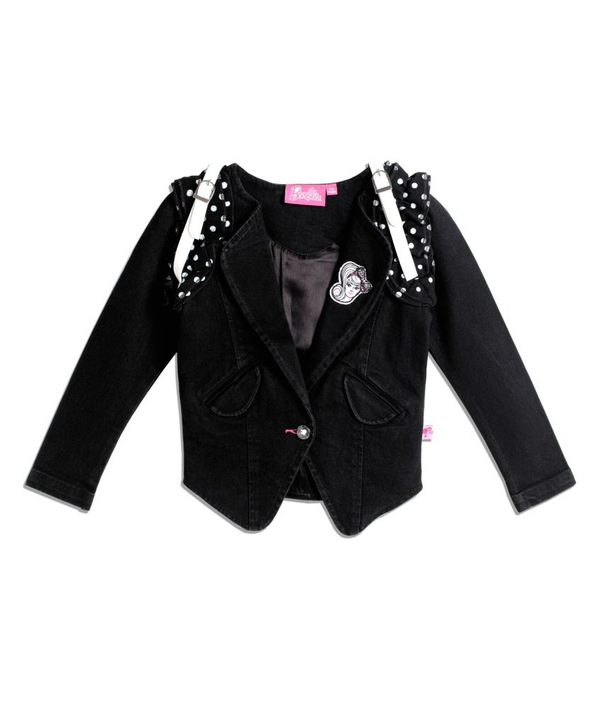 Barbie Black Denim Jacket