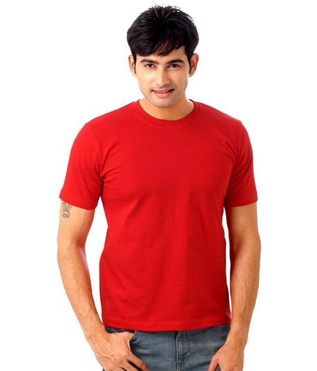 Boys Red Cotton T-shirt Combo Of 3