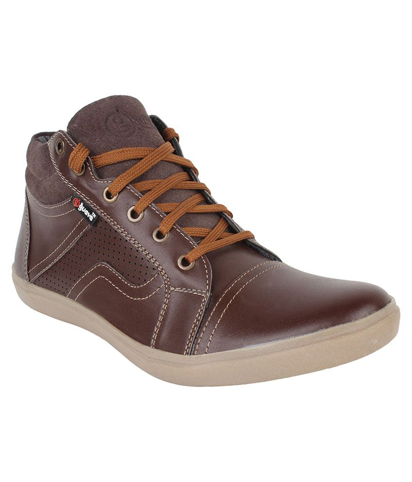 Guava Brown Casual Shoes