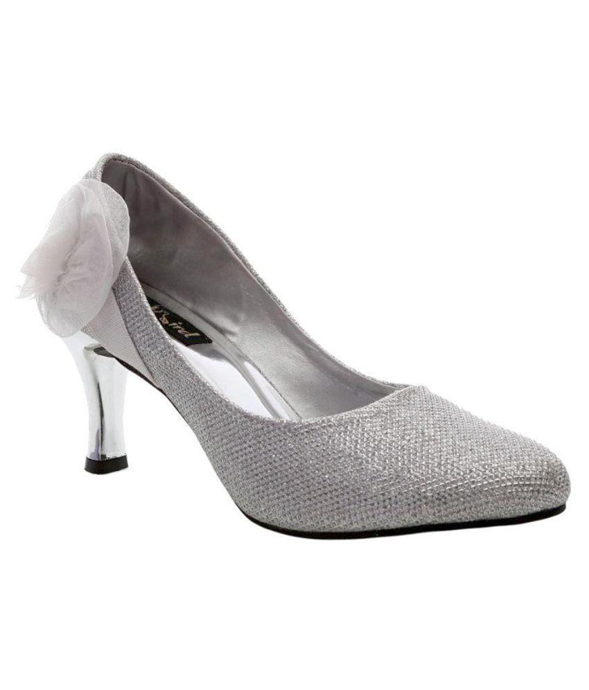 Catbird Silver Stiletto Heels