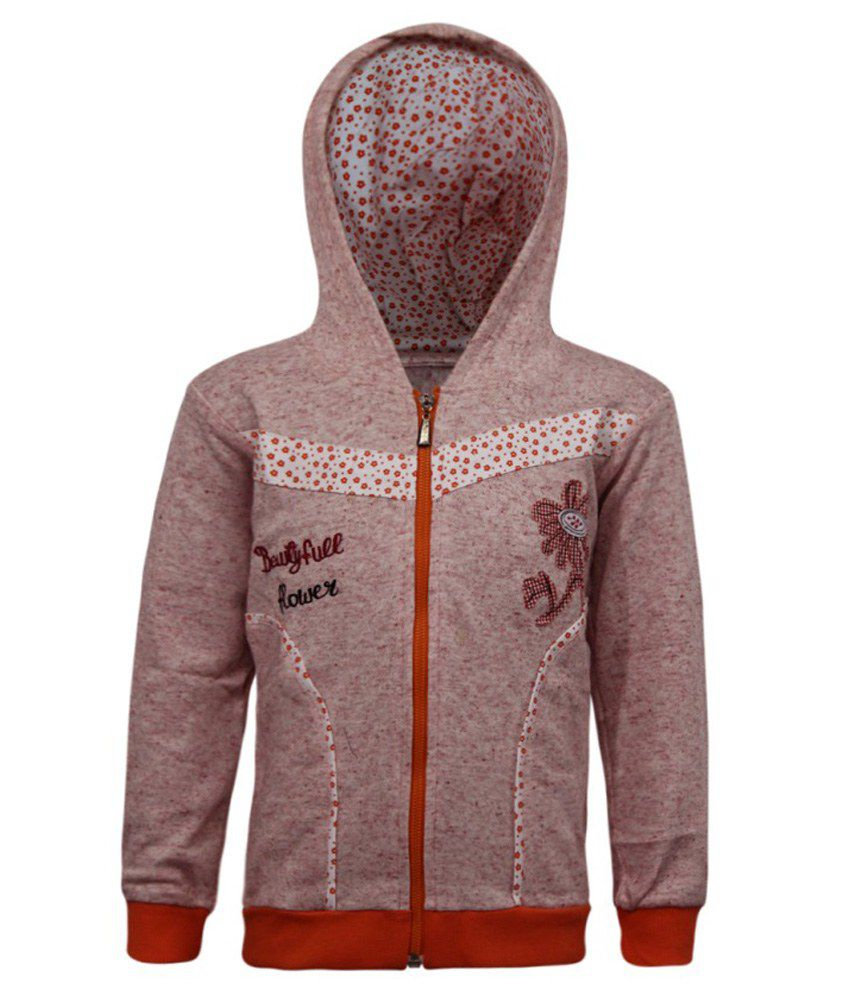 Kothari Pink Fleece Sweatshirt With Hood