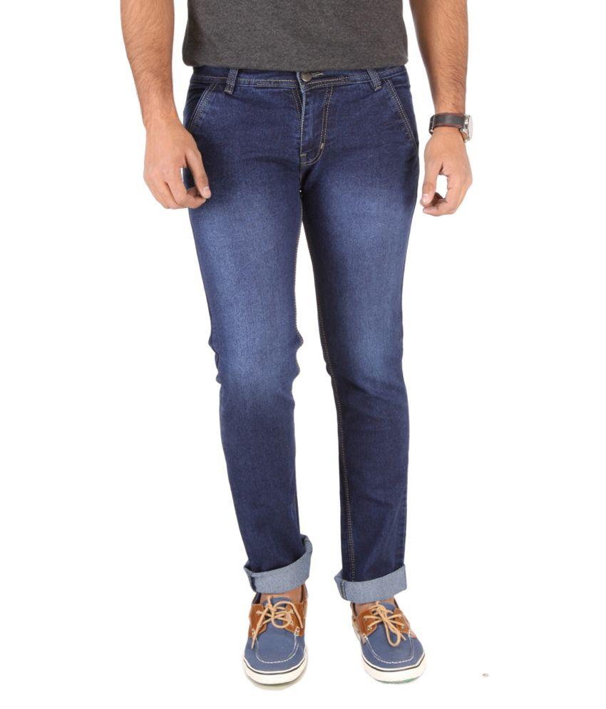Sls Blue Slim Fit Jeans